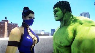 getlinkyoutube.com-HULK VS KITANA (Mortal Kombat)