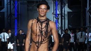 getlinkyoutube.com-Dsquared2 Men Spring/Summer 2013 FULL SHOW | Milan Men's Fashion Week | FashionTV FMEN