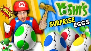 getlinkyoutube.com-YOSHI'S SURPRISE EGGS!    Trouble Maker Toys!!!   (FGTEEV Skit / Unboxing)