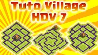 getlinkyoutube.com-TUTO Clash of Clans : Les Meilleurs Villages HDV 7 !