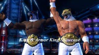 getlinkyoutube.com-Tekken - King & Armor King Showcase