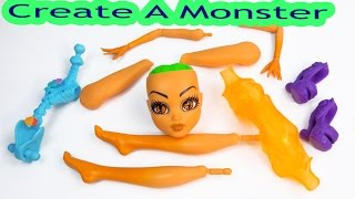 getlinkyoutube.com-Create A Inner Monster High Doll Add On Starter Pack CAM Playset Set Scared Silly Shockingly Shy