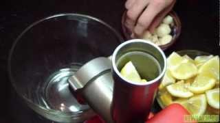 getlinkyoutube.com-Чистка сосудов чесноком и лимоном