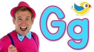getlinkyoutube.com-The Letter G Song - Learn the Alphabet