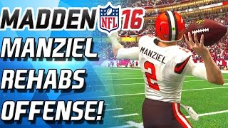 getlinkyoutube.com-JOHNNY MANZIEL REHABS OFFENSE! - Madden 16 Ultimate Team
