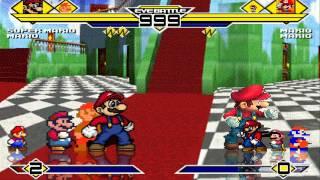 getlinkyoutube.com-Mario's Party 4v4 Patch MUGEN 1.0 Battle!!!