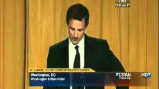 getlinkyoutube.com-Seth Meyers Destroys Donald Trump @ White House Correspondents Dinner 5/1/2011