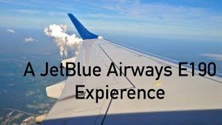 getlinkyoutube.com-Trip Report: JetBlue Airways E190 expierence