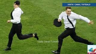 El Grupo Pussy Riot se atribuye invasión de cancha en la final del Mundial Rusia 2018