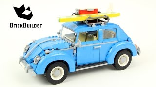 Lego Creator 10252 Volkswagen Beetle - Lego Speed Build