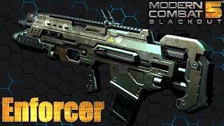 getlinkyoutube.com-Modern Combat 5 Enforcer Review - Live Gameplay