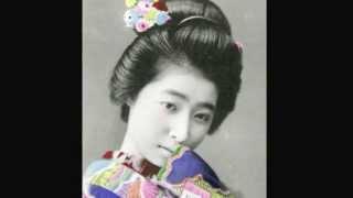 getlinkyoutube.com-明治時代の日本美人(芸者) Antique Postcards of Geisha