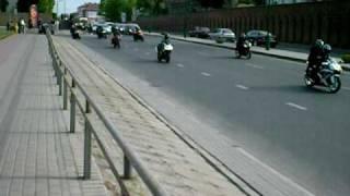 Baikeriu sezono atidarymas Klaipeda 2009 05 16 part2