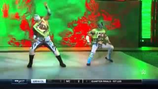 getlinkyoutube.com-The Lucha Dragons Vs. The Vaudevillains - WWE SmackDown - 07/04/2016