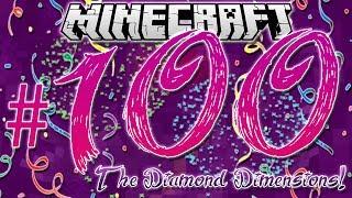 """4 CLONES, LUCKY BLOCKS & FIREWORKS!"" | Diamond Dimensions Modded Survival #100 | Minecraft"