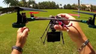 getlinkyoutube.com-Sports HD 1080P Action Camera on Quadcopter v262 Dual Cam View