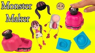 getlinkyoutube.com-Monster High Maker Machine Create A Draculaura Mini Doll Craft Toy Playset - Cookieswirlc Video
