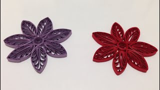 getlinkyoutube.com-Quilling Flowers using a hair comb