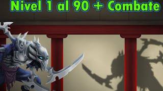getlinkyoutube.com-Monster Legends - Haku (Nivel 1 al 90) + Combate