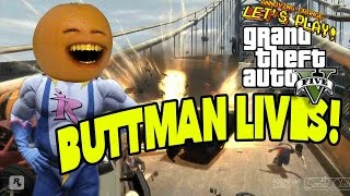 getlinkyoutube.com-Annoying Orange - GTA V: BUTTMAN LIVES!!!