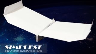 getlinkyoutube.com-Best Paper Planes: How to make a paper airplane that Flies FAST | Simplest