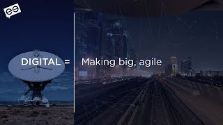 Digital = DevOps + agile