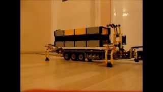 getlinkyoutube.com-Lego Technic Combilift Container Lifter Prototype by dokludi