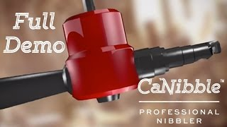getlinkyoutube.com-Introducing CaNibble - The Professional Nibbler Tool | Product guide (with full instructions)