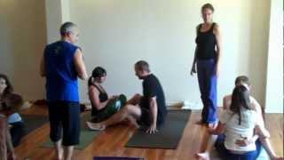 getlinkyoutube.com-Lino Miele at Infinite Yoga's The Art of Touch Workshop
