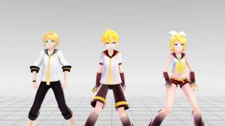 getlinkyoutube.com-[MMD] DADDY - Len, Rin & Rinto (Motion DL)