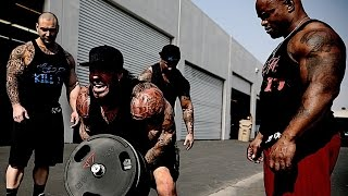 getlinkyoutube.com-DOWNTOWN L.A. BACK ALLEY WORKOUT - GHETTO STYLE - WHATEVER IT TAKES - RICH PIANA
