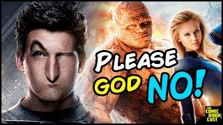 FOX Plans a NEW Fantastic Four Franchise! NO FOX! NO!