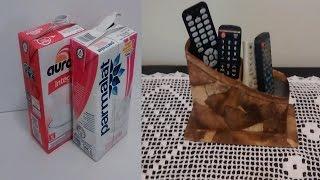 getlinkyoutube.com-Porta controle feito com caixa de leite e filtro de café!