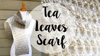getlinkyoutube.com-How To Crochet the Tea Leaves Scarf, Episode 353