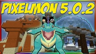 Pixelmon 5.0.2 Update - NEW GYMS! BEST WAY TO LEVEL UP! (Pixelmon Guide)