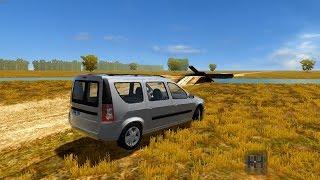 getlinkyoutube.com-City Car Driving 1.5.3 | Lada Largus /Renault Logan MVC/ Dacia Logan MCV | CUSTOM SOUND