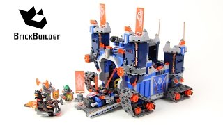getlinkyoutube.com-Lego Nexo Knights 70317 The Fortrex - Lego Speed build