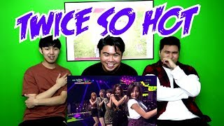 TWICE - SO HOT REACTION (FUNNY FANBOYS)