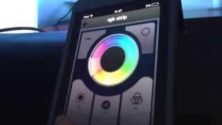 getlinkyoutube.com-DIY ESP8266 Wi-Fi iPhone controlled rgb led strip demo