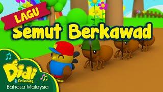 getlinkyoutube.com-Lagu Kanak Kanak | Semut Berkawad | Didi & Friends