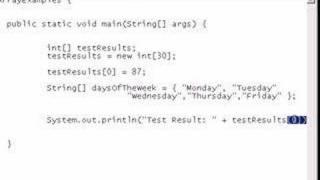 getlinkyoutube.com-Java Video Tutorial 8: Arrays