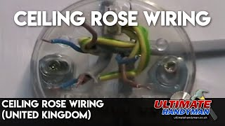 getlinkyoutube.com-Ceiling rose wiring (United Kingdom)