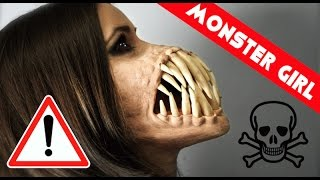 MONSTER girl!!! Special Effects Makeup