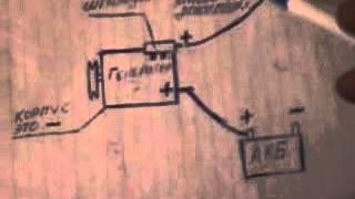 getlinkyoutube.com-как подключить генератор на мотоблок или на мототрактор