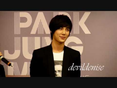 Park Jung Min Singapore 'Not Alone' Press Conference (18 Mar 2011) pt.1