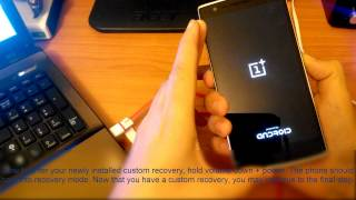 getlinkyoutube.com-OnePlus One Fastboot+TWRP recovery+ROOT Tutorial