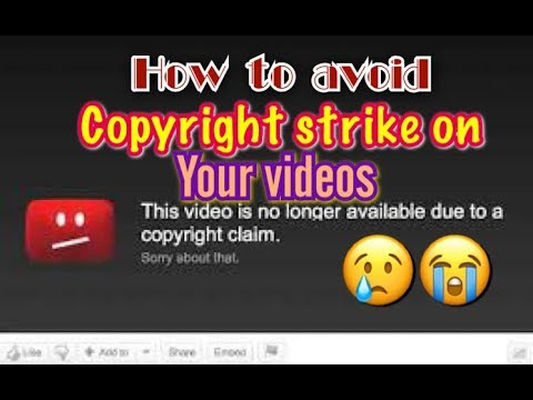 Download thumbnail for How to avoid copyright music   Tagalog