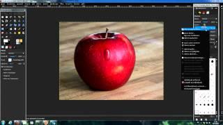 getlinkyoutube.com-Gimp Tutorial Tropfen + Glitzereffekt