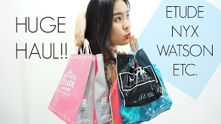getlinkyoutube.com-เห่อของต้องแชร์ - ETUDE, NYX, WATSON, BEAUTY COTTAGE, etc Haul *stylechonneeh