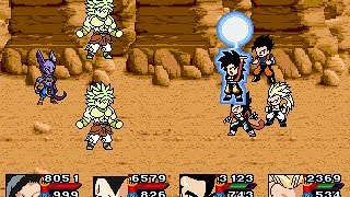 getlinkyoutube.com-Dragon Ball Z Rpg maker fight - Bills in the GT Universe!